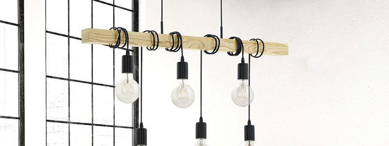 Lampade vintage rivisitate in chiave moderna sono da Laber