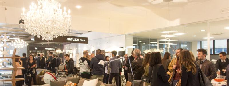 Inaugurazione del nuovo spazio Natuzzi a Pesaro